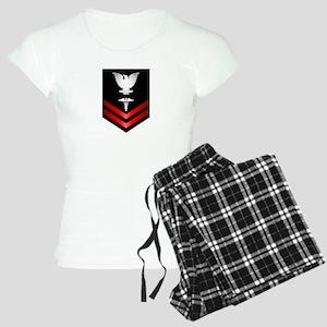 Navy PO2 Corpsman Women's Light Pajamas