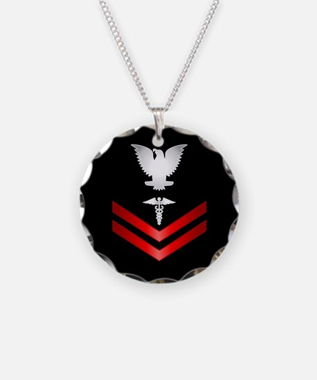 Navy PO2 Corpsman Necklace