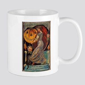 Vintage Halloween Card Mug