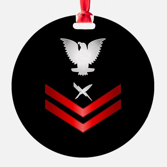 Navy PO2 Cryptologic Technician Ornament