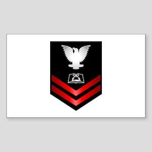 Navy PO2 Culinary Specialist Sticker (Rectangle)