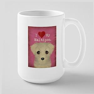 Maltipoo Large Mug