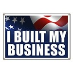 I Built My Business Banner