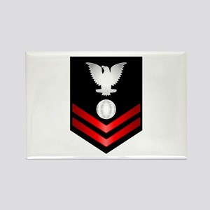 Navy PO2 Electrician's Mate Rectangle Magnet