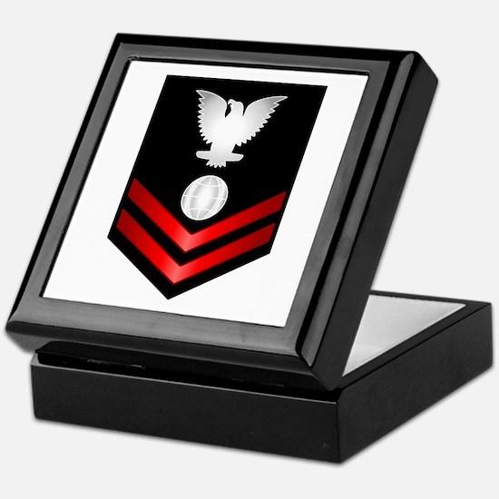 Navy PO2 Electrician's Mate Keepsake Box