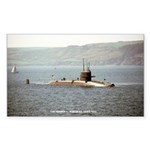 USS GEORGE C. MARSHALL Sticker (Rectangle)