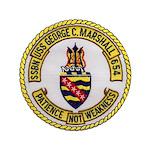 USS GEORGE C. MARSHALL Button
