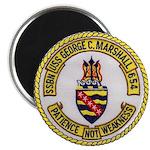 USS GEORGE C. MARSHALL Magnet