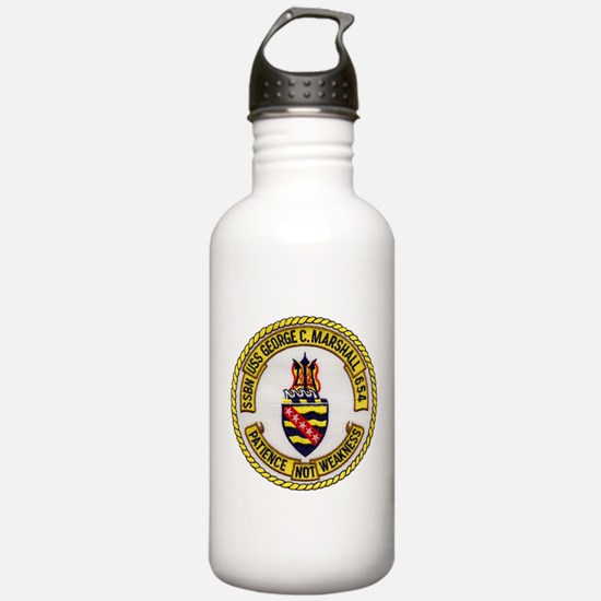 USS GEORGE C. MARSHALL Water Bottle