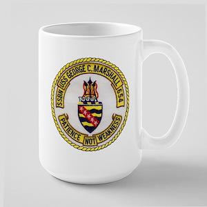 USS GEORGE C. MARSHALL Large Mug