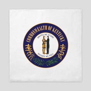 Kentucky State Seal Queen Duvet