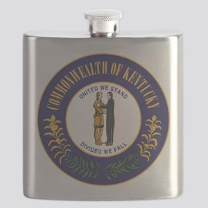 Kentucky State Seal Flask