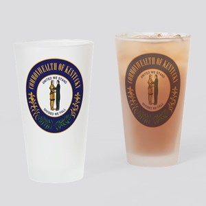 Kentucky State Seal Drinking Glass