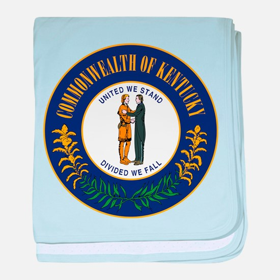 Kentucky State Seal baby blanket