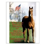 Save America's Horses Small Poster