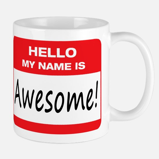 Awesome Name Tag Mug