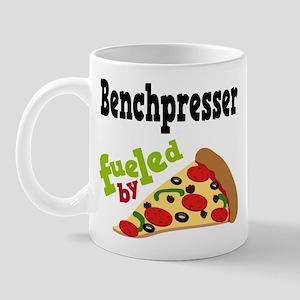 Bench Presser Funny Pizza Mug