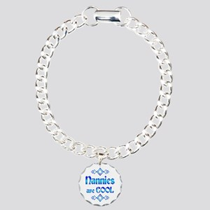 Nannies are Cool Charm Bracelet, One Charm