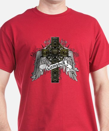 Campbell Tartan Cross T-Shirt