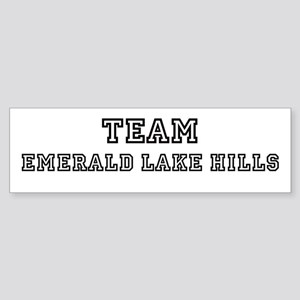 Team Emerald Lake Hills Bumper Sticker