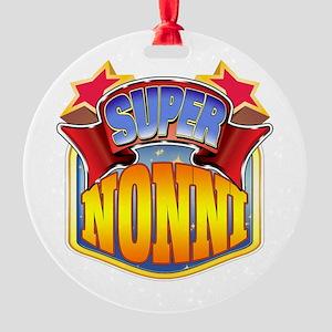 Super Nonni Round Ornament