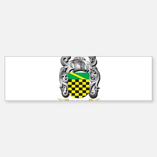 Boley Family Crest - Boley Coat of Bumper Bumper Bumper Sticker