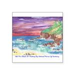 John Muir Beach product Square Sticker 3