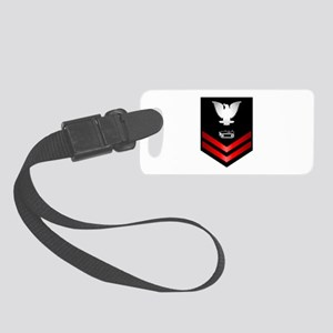 Navy PO2 Equipment Operator Small Luggage Tag