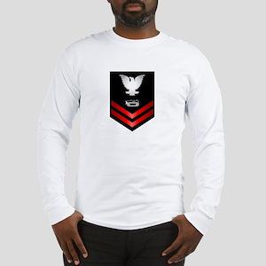 Navy PO2 Equipment Operator Long Sleeve T-Shirt