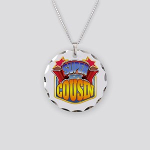 Super Cousin Necklace Circle Charm