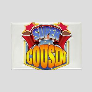 Super Cousin Rectangle Magnet