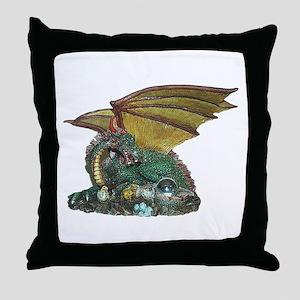 Crystal Gazer Throw Pillow