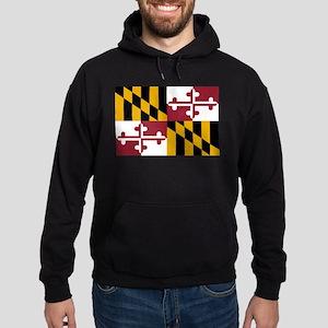 Maryland State Flag Hoodie (dark)