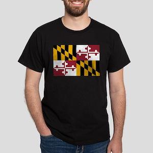 Maryland State Flag Dark T-Shirt