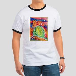 Cactus, Southwest art! Ringer T
