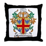 Montmorency Coat of Arms Throw Pillow