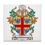 Montmorency Coat of Arms Tile Coaster