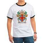 Montmorency Coat of Arms Ringer T