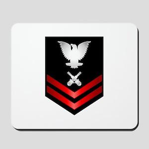 Navy PO2 Gunner's Mate Mousepad
