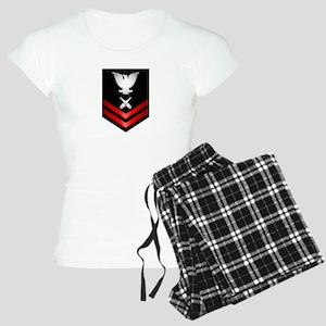 Navy PO2 Gunner's Mate Women's Light Pajamas