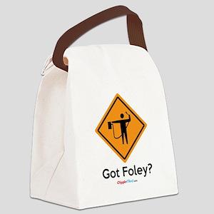 Foley Flagger Sign 02 Canvas Lunch Bag