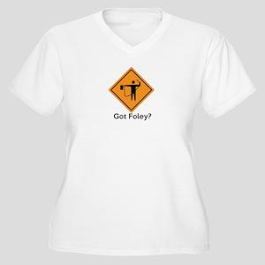 Foley Flagger Sign 02 Plus Size T-Shirt