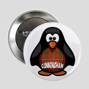 """Cunningham Tartan Penguin 2.25"""" Button"""