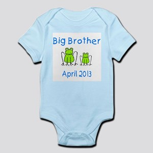 Big Brother Frogs 0413 Infant Bodysuit