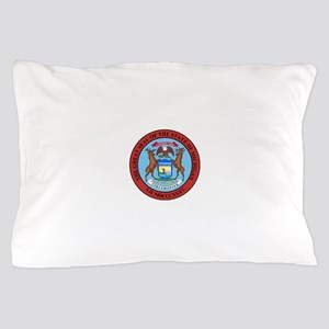 Michigan State Seal Pillow Case