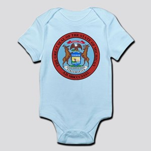 Michigan State Seal Infant Bodysuit