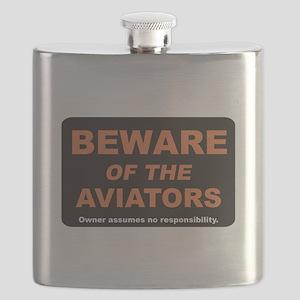 Beware / Aviators Flask