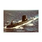 USS GUDGEON Mini Poster Print