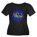 USS GUDG Women's Plus Size Scoop Neck Dark T-Shirt