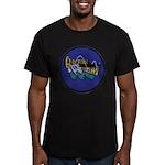 USS GUDGEON Men's Fitted T-Shirt (dark)